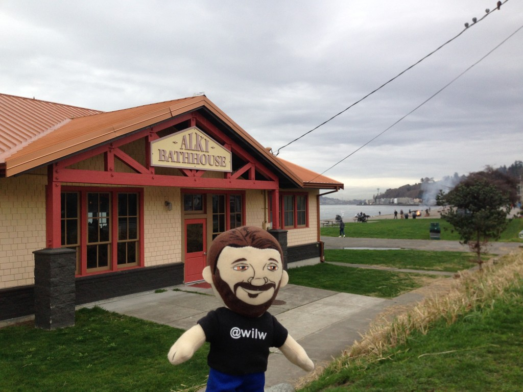 Wil Wheaton at the Alki Bathhouse