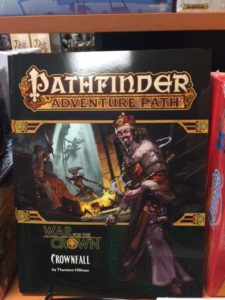 Pathfinder Adventure Path - Crownfall
